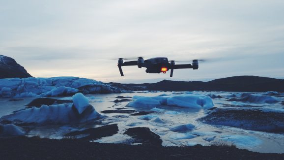 flying a drone in cold weather